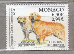 MONACO 2000 Dogs Golden Retriever MI 2483 MNH (**) #19273 - Dogs