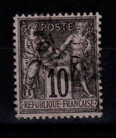 Sage Type III - YV 103 Oblitere Pas Aminci Cote 10 Euros - 1898-1900 Sage (Tipo III)