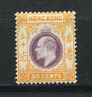 Hong Kong - Colonie Britannique - N° 97 * - Neuf Avec Charnière - Hong Kong (...-1997)