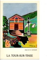 LA TOUR SUR TINEE 06 - DESSIN DE H.H. MUTSCHLER - Altre Illustrazioni