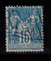 Drapeau RF De L'exposition Universelle De 1900 Sur YV 101 - 1898-1900 Sage (Type III)