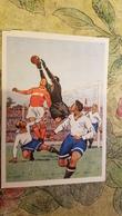 """Ossovsky  """"Dinamo Vc Spartak"""" - Football / Soccer.  OLD USSR PC. 1955 - Fussball"""