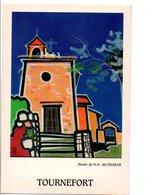TOURNEFORT 06 - DESSIN DE H.H. MUTSCHLER - Altre Illustrazioni