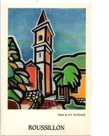 ROUSSILLON 06 - DESSIN DE H.H. MUTSCHLER - Altre Illustrazioni