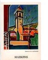 MASSOINS 06 - DESSIN DE H.H. MUTSCHLER - Altre Illustrazioni