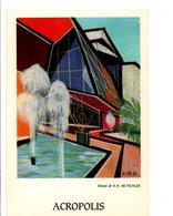 ACROPOLIS NICE 06 - DESSIN DE H.H. MUTSCHLER - Altre Illustrazioni