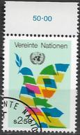 1980 UNO Wien Mi. 8 Used - Oblitérés