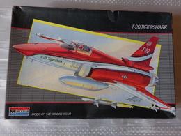 Maquette Avion Militaire-en Plastique-1/48 Monogramm  F20 Tigershark   Ref  5445 - Airplanes