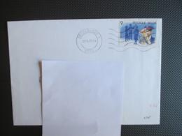 Nr 2345 Kerstmis & 2349 Priester Daens - Allebei Alleen Op Brief - Lettres & Documents
