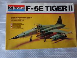 Maquette Avion Militaire-en Plastique-1/48 Monogramm  F 5 E  Tiger II  Ref  5407 - Airplanes
