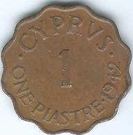 Cyprus - George VI - 1942 - 1 Piastre - KM23a - Cyprus