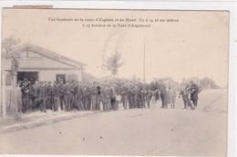 95-ARGENTEUIL- LA GARE- VUE GENERALE DE LA ROUTE D'ENGHEIN ET DU STAND-ANIMEE - Argenteuil