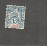 MARTINIQUE1892:Yvert35mh* Cat.Value46Euros($50) - Nuovi