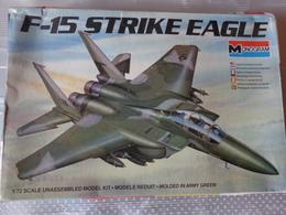 Maquette Avion Militaire-en Plastique-1/72 Monogramm  F 15 Strike Eagle Ref  5434 - Airplanes