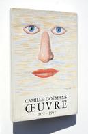 Surréalisme : Camille GOEMANS, Oeuvre 1922-1957 - Illustration Magritte - Editions De Rache, 1970 - Autres