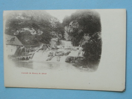 "BOURG De SIROD  (Jura) -- Cascade Et Moulin Avec Sa Roue à Aubes - Carte ""précurseur"" - Mulini Ad Acqua"