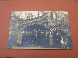 Carte Photo 9x14 DD V St Saint Etienne De Remiremont Env Gerardmer Ceremonie A La Grotte De Lourdes Eveque 1943 Bon Etat - Saint Etienne De Remiremont