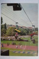 """(11/8/3) Postkarte/AK """"Stuttgart"""" Bundes Gartenschau April - Oktober 1961, Sessellift Und Kleinbahn - Autres"""