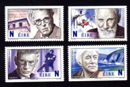 IRLANDE 2004 - Yvert 1614a/1617a - Neufs **/MNH - Personnalités, Prix Nobel De Littérature Irlandais - Nuovi