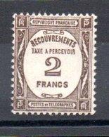 F1 France Taxe N° 62 **. A Saisir !!! - Segnatasse