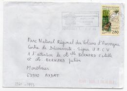 France N° 2960 Y. Et T. Vienne Poitiers Centre De Tri Flamme Illustrée Du 08/08/1995 - 1961-....