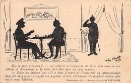 CPA Est-ce Une Allusion ? VAN BATH 1915 - Otros Ilustradores