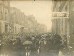130420C - PHOTO 1930 - 51 CHALONS Rue De La Marne Convoi De 600 Prisonniers Allemands Boche - Guerre 14 18 - Châlons-sur-Marne