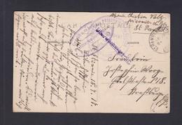 Cachet St Saint Rambert Sur Loire Depot Prisonniers De Guerre Kriegsgefangenensendung Correspondance Guerre 14-18 - War 1914-18