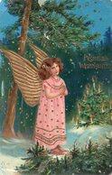 DC647 - Engel Weihnachten Gold - Angeli