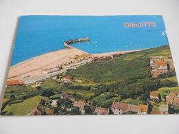MANCHE - N°223 - DIELETTE - Port Plage - Circulée 1984 Cachet BARNEVILLE Sabine 1,70F - Autres Communes