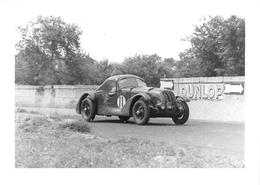 """LES 24 HEURES Du MANS - Cliché D'une Voiture De Course - Retirage  """" Washington-Photo """"  - Voir Description - Le Mans"""