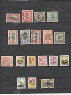 Congo Belge Lot De 18 Timbres Oblitérés Et ** (lot 239) - Collections