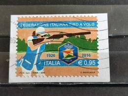 2016, ITALIA, 90° Anniversario Della Federazione Italiana Di Tiro Al Volo - 6. 1946-.. Repubblica