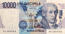 Italy 10.000 Lire, P-112d (3.9.1984) - UNC - 10000 Lire