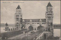 Hohenzollernbrücke, Cöln Am Rhein, 1919 - Heiss AK - Field Post Office - Koeln