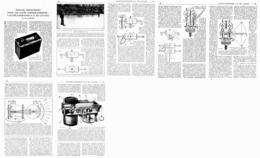 "LES LEVEES TOPOGRAPHIQUES "" L'ALTIPLANIGRAPHE D.S. DE LAVAUD  "" 1921 - Ciencia & Tecnología"