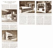 FOUR AUTOMATIQUE CONTINU Pour La CUISSON Du PAIN  1921 - Ciencia & Tecnología