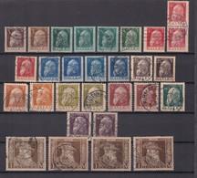 Bayern - 1911 - Michel Nr. 76/86 - Gest. - 137 Euro - Bayern
