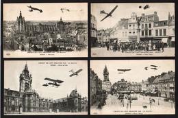 DOUAI: Lot De 15 Cartes Neuves D'aviation Du Nord, De La Somme Et Diverses. - Douai