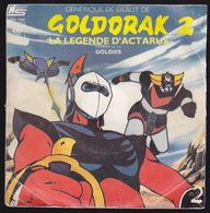 DISQUE - 45T - Vinyle - Goldorak - 7266 - Enfants