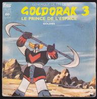 DISQUE - 45T - Vinyle - Goldorak - 7267 - Enfants