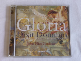 VIVALDI, Haendel Gloria,  Dixit Dominus, John Eliot Gardiner - Classique