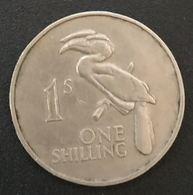 ZAMBIE - ZAMBIA - 1 - ONE SHILLING 1964 - KM 2 - Calao Bicorne - Zambie