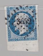 PC 3652 Vire ( Dep 13 ) S / N° 14A Bdf - Marcophilie (Timbres Détachés)