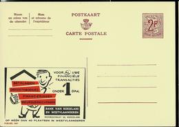 Publibel Neuve N° 1849  ( Bank Van Roeselare) - Enteros Postales