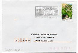 France N° 3017 Y. Et T. Vendée Fontenay Le Comte Flamme Illustrée Du 23/08/1996 - Marcophilie (Lettres)