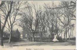 12, Aveyron, RODEZ, Square Du Foirail, Scan Recto Verso - Rodez