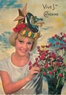 SAINTE CATHERINE - Chapeau Avec 45T, Petite Voiture Rouge, étoile - Sainte-Catherine