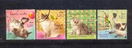 CROATIA - FAUNA - CATS - MI.NO.1021/4 - KC = 2,8 € - Kroatien