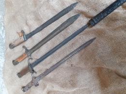 Lot De Baionettes De Fouille - Armas Blancas